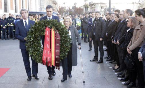 Los madrileños rinden homenaje a las víctimas del 11-M en el 15º aniversario de los atentados