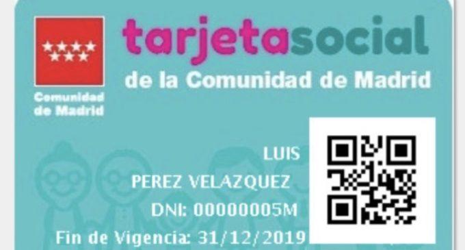 Los madrileños ya pueden descargar en sus dispositivos móviles la app Tarjeta Social
