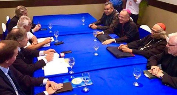 Nicaragua: obispos se reúnen con el secretario general de la OEA