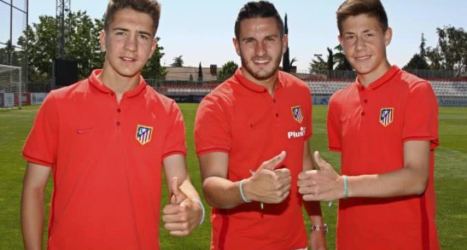 Koke respalda al Cadete B del Atlético de Madrid en sus aspiraciones de disputar la otra final de Milán