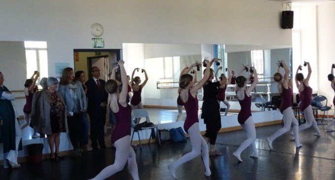 Más de 400 alumnos estudiarán este curso 2017/18 en el Real Conservatorio Profesional de Danza Mariemma