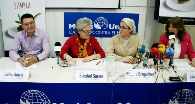 Manos Unidas inicia su Trienio de lucha contra el hambre con su nueva campaña PLÁNTALE CARA AL HAMBRE: SIEMBRA