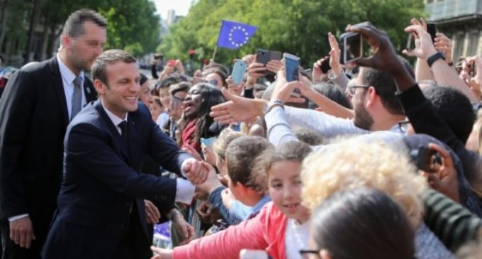 Telegrama del Papa al nuevo presidente francés