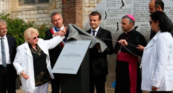 Emmanuel Macron: «El martirio del padre Hamel no ha sido en vano»