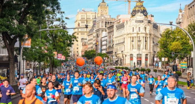 13ª edición de la carrera solidaria Madrid corre por Madrid