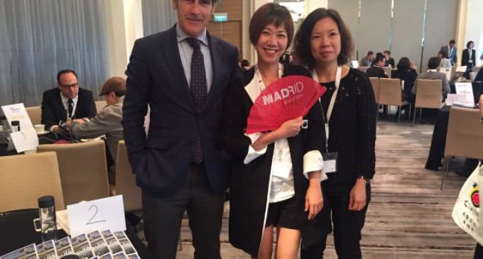 El director general de Turismo, Carlos Chaguaceda, promociona Madrid en China