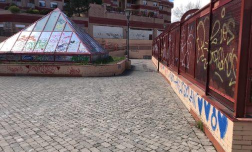 Majadahonda: El PSOE exige que se acabe con los actos vandálicos en el centro municipal Mario Vargas Llosa y Fundación Tomillo