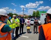 Majadahonda: Arrancan las obras para la construcción de la pasarela peatonal de Roza Martín