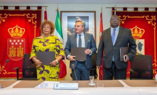 Majadahonda firma un acuerdo de colaboración socio-sanitario con la ciudad de Bata