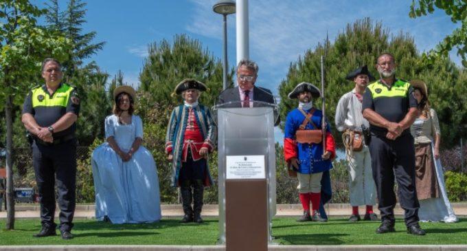 Narciso de Foxá inaugura en Majadahonda el parque Blas de Lezo y Olavarrieta