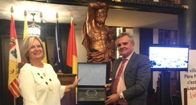 """Majadahonda recibe el premio """"Ciudad Europea de la Navidad"""""""