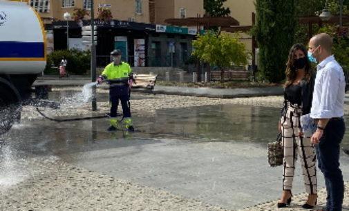 Majadahonda: El Ayto. pone en marcha un Plan de choque de limpieza y desinfección de la ciudad ante la vuelta de vacaciones