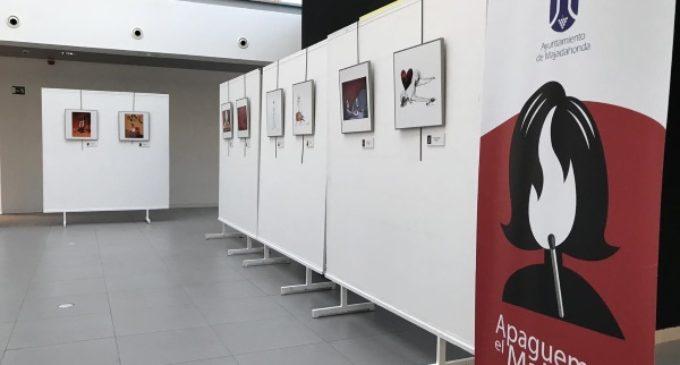 """Majadahonda: """"Apaguemos el maltrato"""": denuncia social a través de la obra de los mejores viñetistas del mundo"""