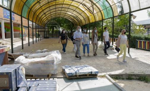 Majadahonda: Avanzan las obras en colegios públicos a las que se destinarán cerca de un millón de euros