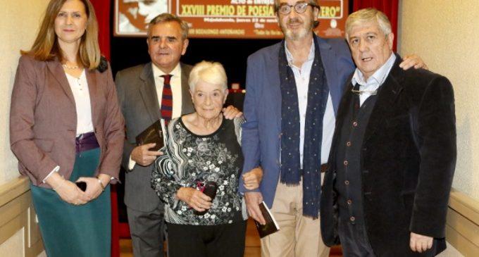 Majadahonda: Javier Bozalongo recoge el Premio de Poesía Blas de Otero