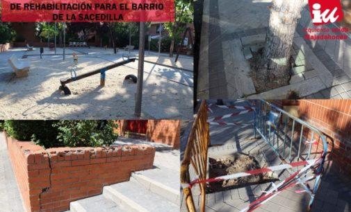 Majadahonda: Izquierda Unida reclama un programa integral de rehabilitación para el barrio de La Sacedilla