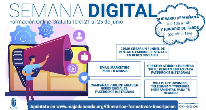 Majadahonda: El Ayuntamiento dedica su formación online mensual al mundo digital