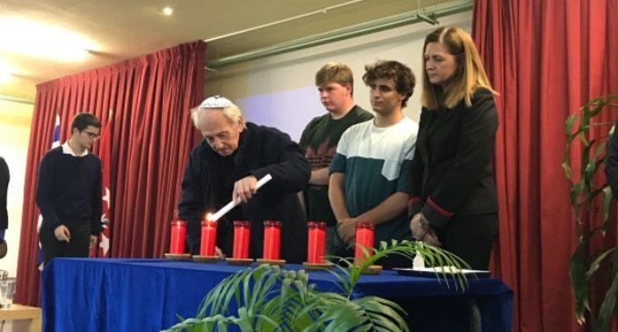 """En Majadahonda, Noah Klieger, superviviente del Holocausto: """"Sólo la muerte puede liberarte de Auschwitz"""""""
