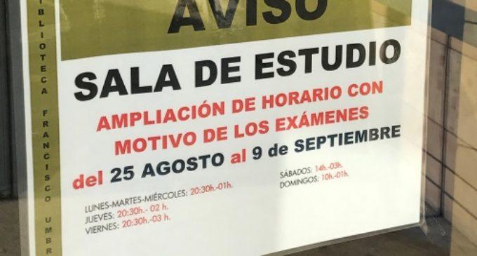 Majadahonda: la Biblioteca amplía su horario con motivo de los exámenes de septiembre