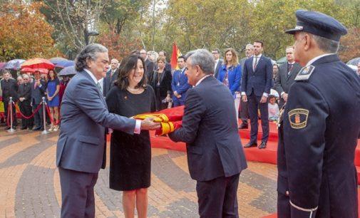 Majadahonda rindió homenaje a la Bandera
