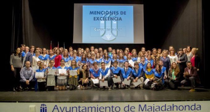 Reconocimiento a la excelencia educativa de los alumnos de Majadahonda