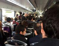Colapso y saturación en el transporte público en autobús de Majadahonda
