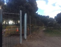 Majadahonda: El Ayuntamiento instala un mallazo de gran resistencia para frenar la entrada de jabalíes