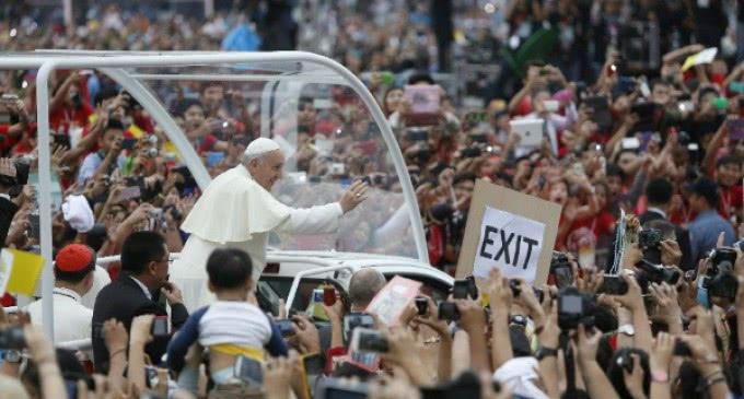 Viaje apostólico del Papa Francisco a Filipinas. Visita Manila y la isla de Tacoblan