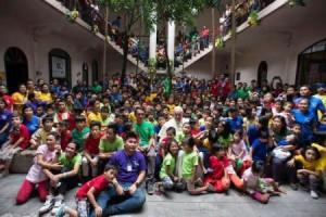 Manila. Palacio Presidencial 5. Niños de la calle