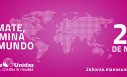 """Comienzan las @24hManosUnidas ¡Participa! """"Tú puedes dar luz al mundo"""" #24hManosUnidas"""
