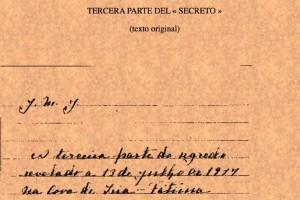 Manuscrito Mensaje de Fátima