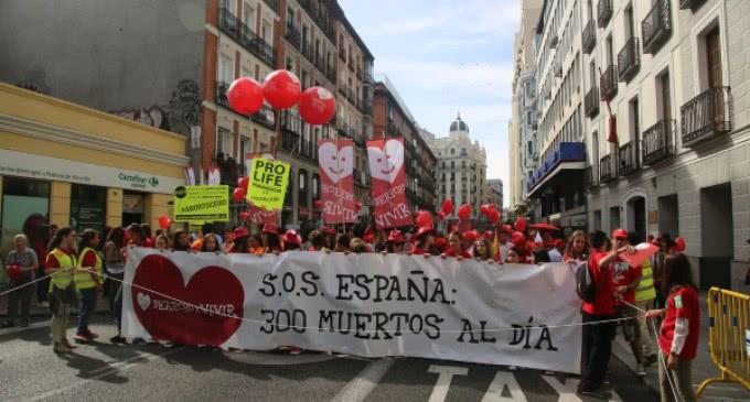 """Derecho a Vivir: """"La retirada de la 'ley Gallardón' no le saldrá gratis al Gobierno"""""""