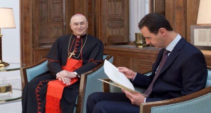 El Papa escribe al presidente sirio  Bashar al-Assad