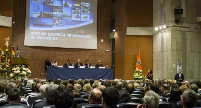 Interior distingue al ERICAM con dos medallas al Mérito de la Protección Civil
