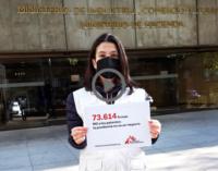 Médicos sin fronteras: Hoy entregamos 73.614 firmas al Gobierno de Pedro Sánchez
