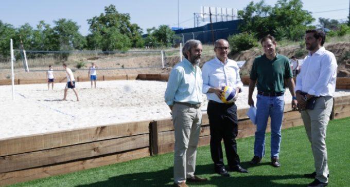 600.000 euros destina la Comunidad para la mejora y ampliación del Parque Deportivo Puerta de Hierro
