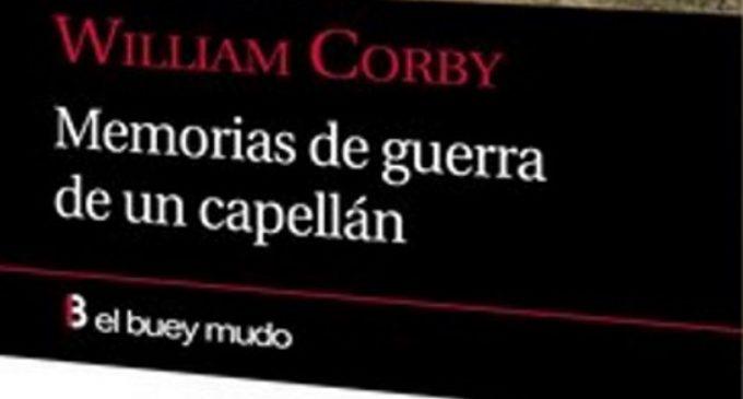 """Libros: """"Memorias de guerra de un capellán"""" de William Corby, traducido por David Cerdá García"""