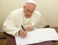 Mensaje del Papa Francisco para la 52 Jornada Mundial de la Paz