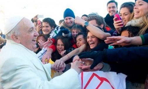 Mensaje del Papa para la XXX Jornada Mundial de la Juventud: »Atreveos a ser felices»