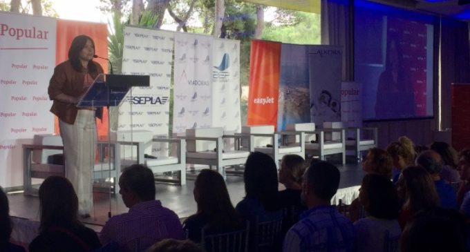 Belén Prado participa en la presentación del proyecto Aviadoras de la AEP, con la participación y colaboración de SEPLA