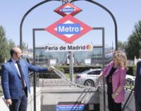 La estación de Metro de Campo de las Naciones se llamará Feria de Madrid desde el próximo día 26
