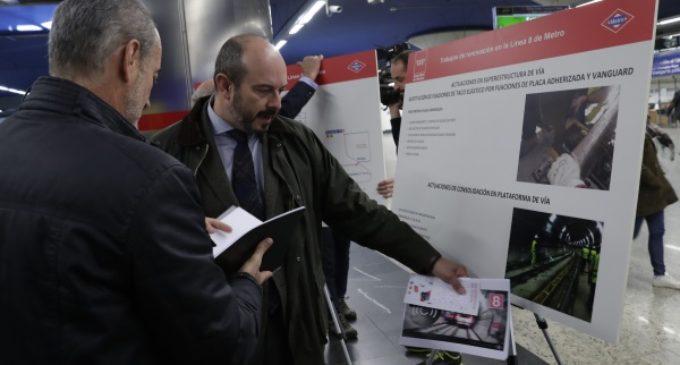 Un amplio dispositivo informará a madrileños y turistas de las obras de modernización de la Línea 8 de Metro
