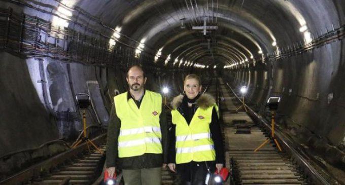 La línea 1 de Metro ha cerrado 23 estaciones por obras de mejora en 13,5 kilómetros de vía