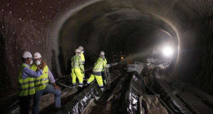 El 46,5 por ciento de las obras de acondicionamiento y mejora de Línea 1 de Metro ya están realizadas