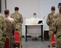 Los militares españoles en Bagdad se preparan para la visita del Papa