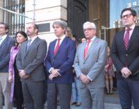 La Comunidad muestra su solidaridad y condolencia con las víctimas del atentado de Mánchester con un minuto de silencio
