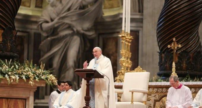 """Francisco: """"Estamos llamados a sumergirnos en el océano de la misericordia"""""""