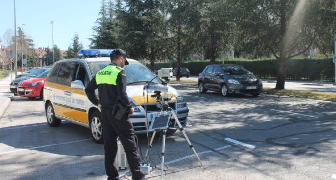 El Ayuntamiento de Majadahonda inicia una campaña de control de velocidad con un radar móvil