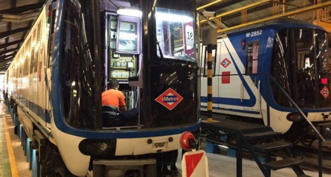 20 millones de euros invierte la Comunidad de Madrid en modernizar la flota de trenes de la línea 5