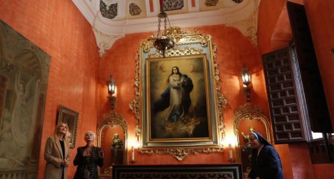 La Comunidad de Madrid colabora en la restauración de la Sala Capitular del Monasterio de las Comendadoras